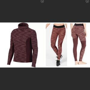 Nike Pro Hyperwarm Top and Pants Size 2X